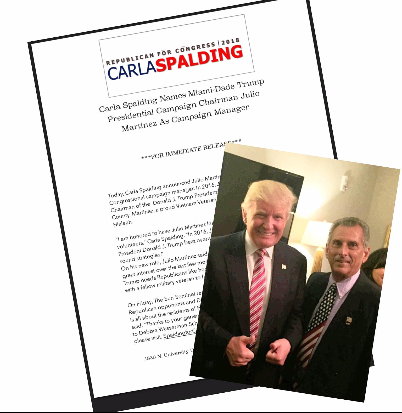 Republican Carla Spalding Raises More Money Than Debbie Wasserman